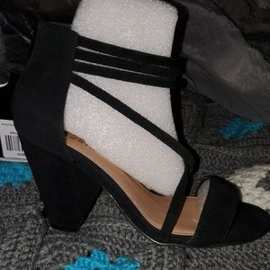 Torrid strappy heels sz 9W
